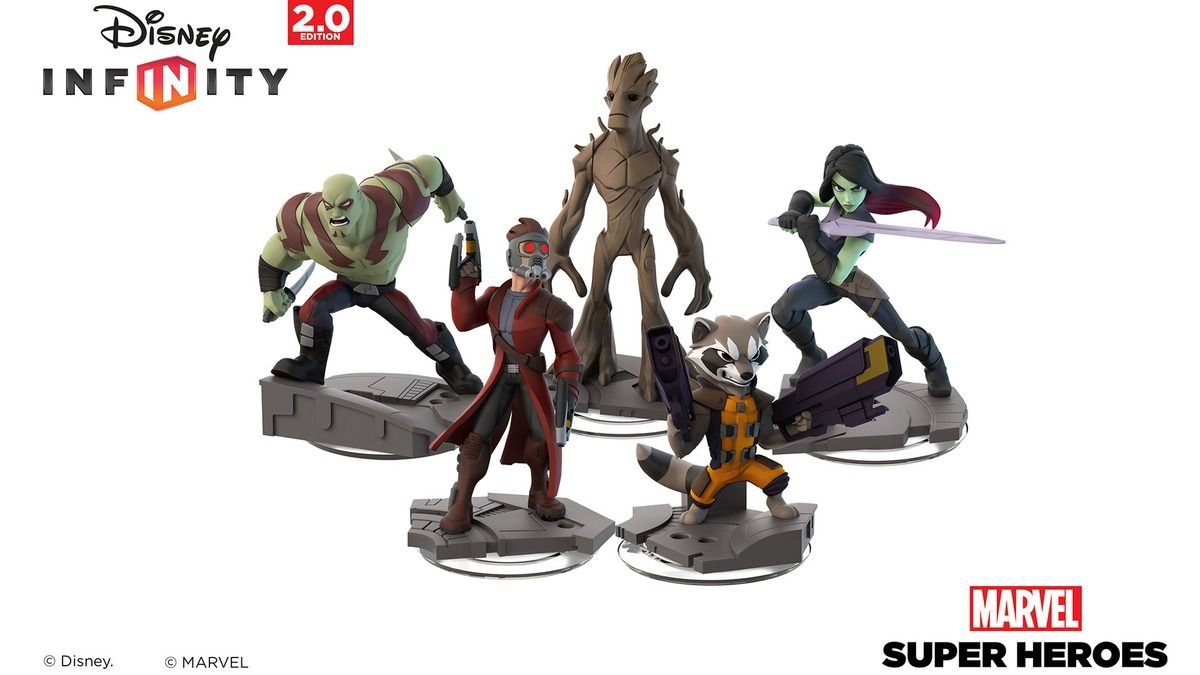 The 'Guardians of the Galaxy' Team Blasts Into Disney Infinity 2.0