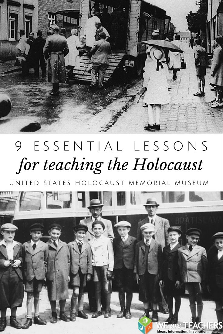 Photo of 9 Essential Lessons for Teaching the Holocaust