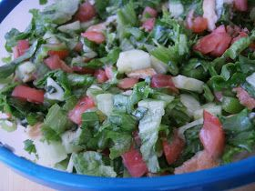 Culinary Couture: Fattoush فتوش (Toasted Bread Salad)