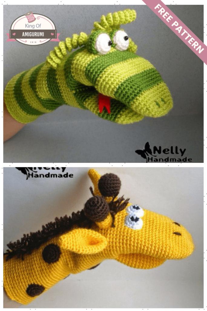Developmental mitten Amigurumi #crochettoysanddolls