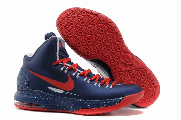 55964b6e32de Navy Blue Sport Red Nike Zoom KD V 554988 061 Kevin Durant Shoes 2013