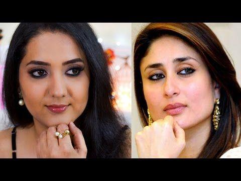 How to apply Kajal like Kareena Kapoor   Simple kajal ...