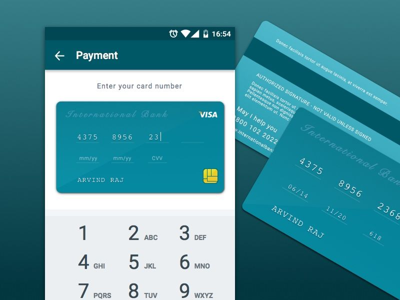 Credit Card Checkout View Free Sketch App Resources Pinterest - credit application