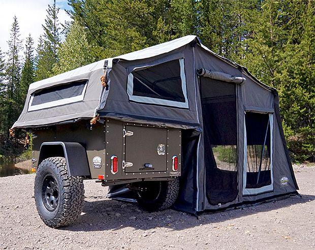 Camper Van Roof Deck