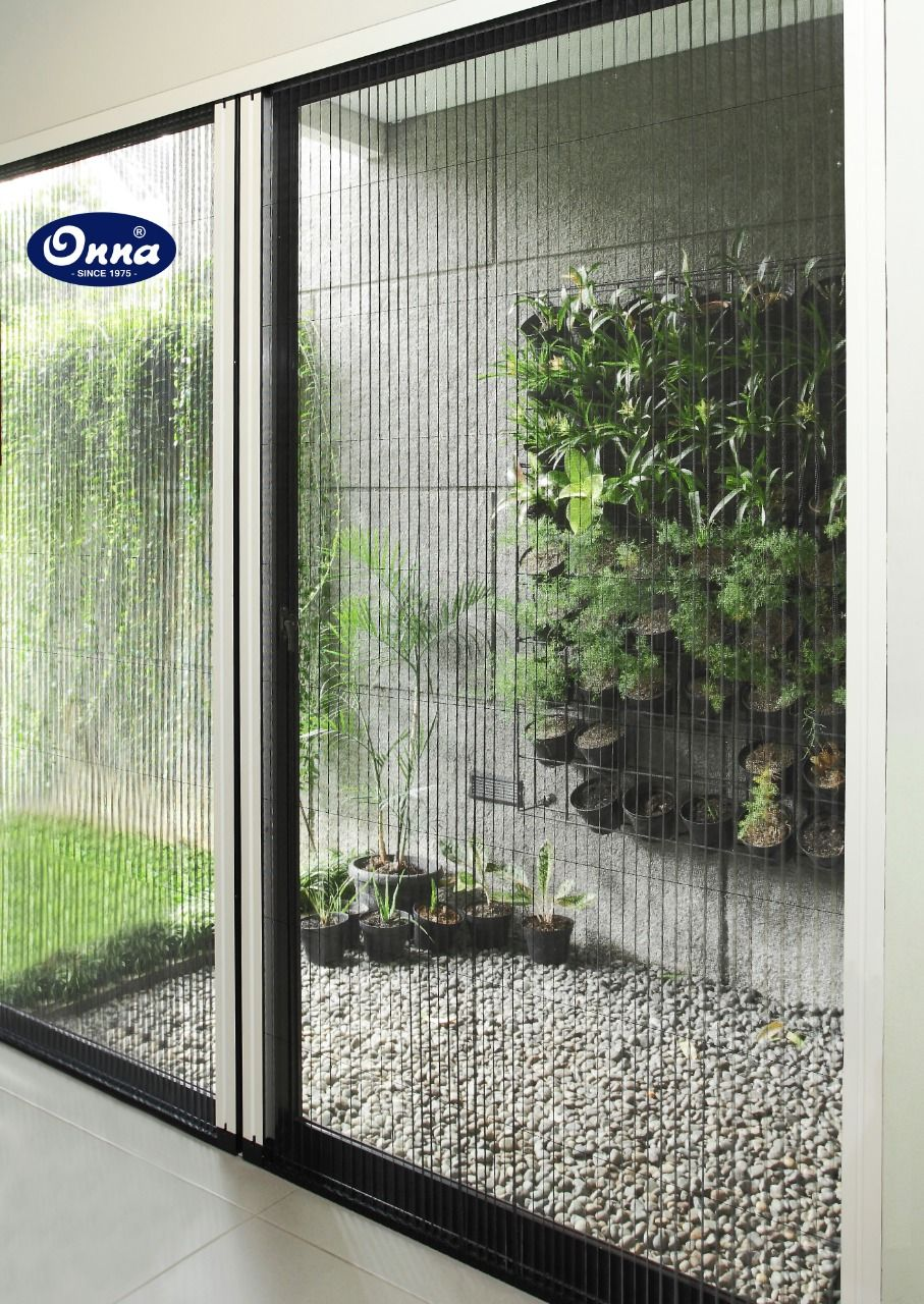 The perfect sliding door system to any back garden or