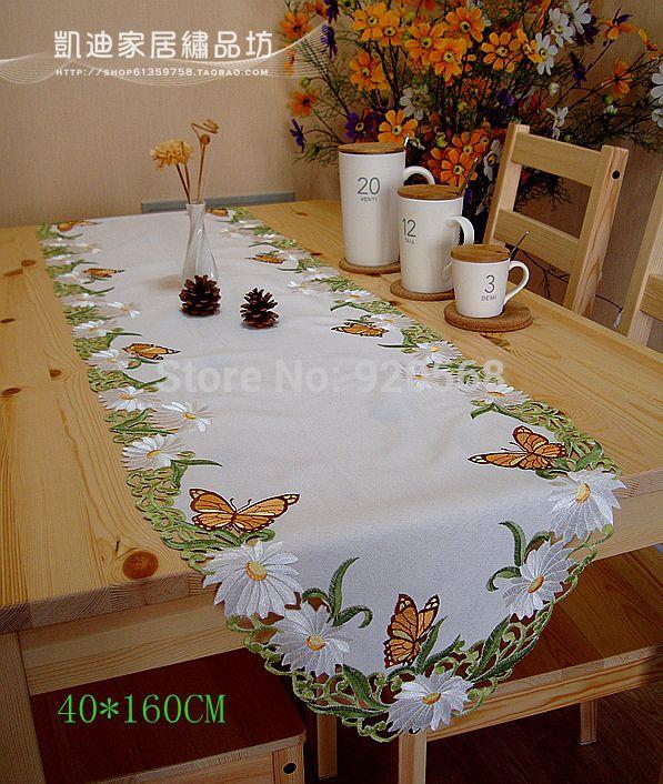 Comprar 2014 nuevo env o gratis tabla cubierta de tabla bordado mesa de caf - Mantel para mesa exterior ...