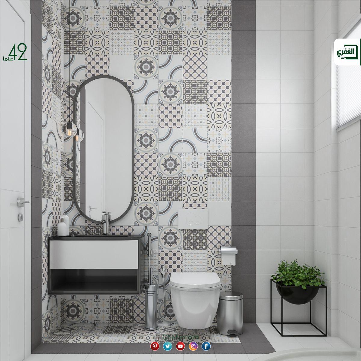 بورسلان أسباني ديكور اندلسي للاستخدام داخل الحمامات المطابخ اماكن اخرى للمزيد زورونا على موقع الشرك In 2021 Round Mirror Bathroom Bathrooms Remodel Bathroom Mirror