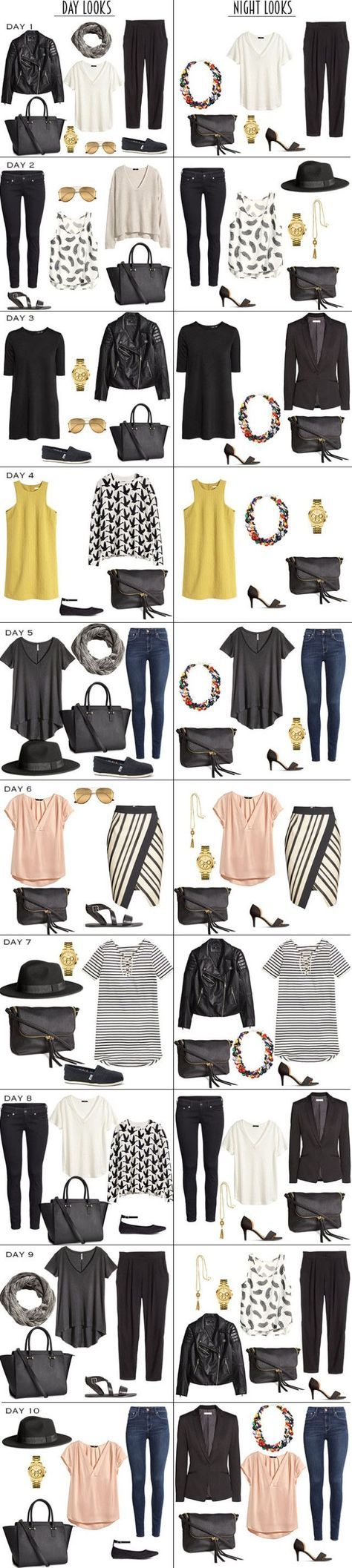 Pinterest And Packing Lists Fashion Capsule Wardrobe Cool Outfits