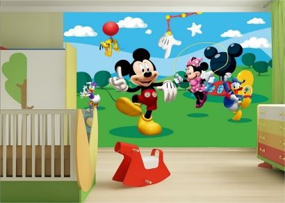 Inspirational topdesignshop Wandtattoo Aufkleber und Gravuren Shop Micky Maus Disney Fototapete f rs Kinderzimmer