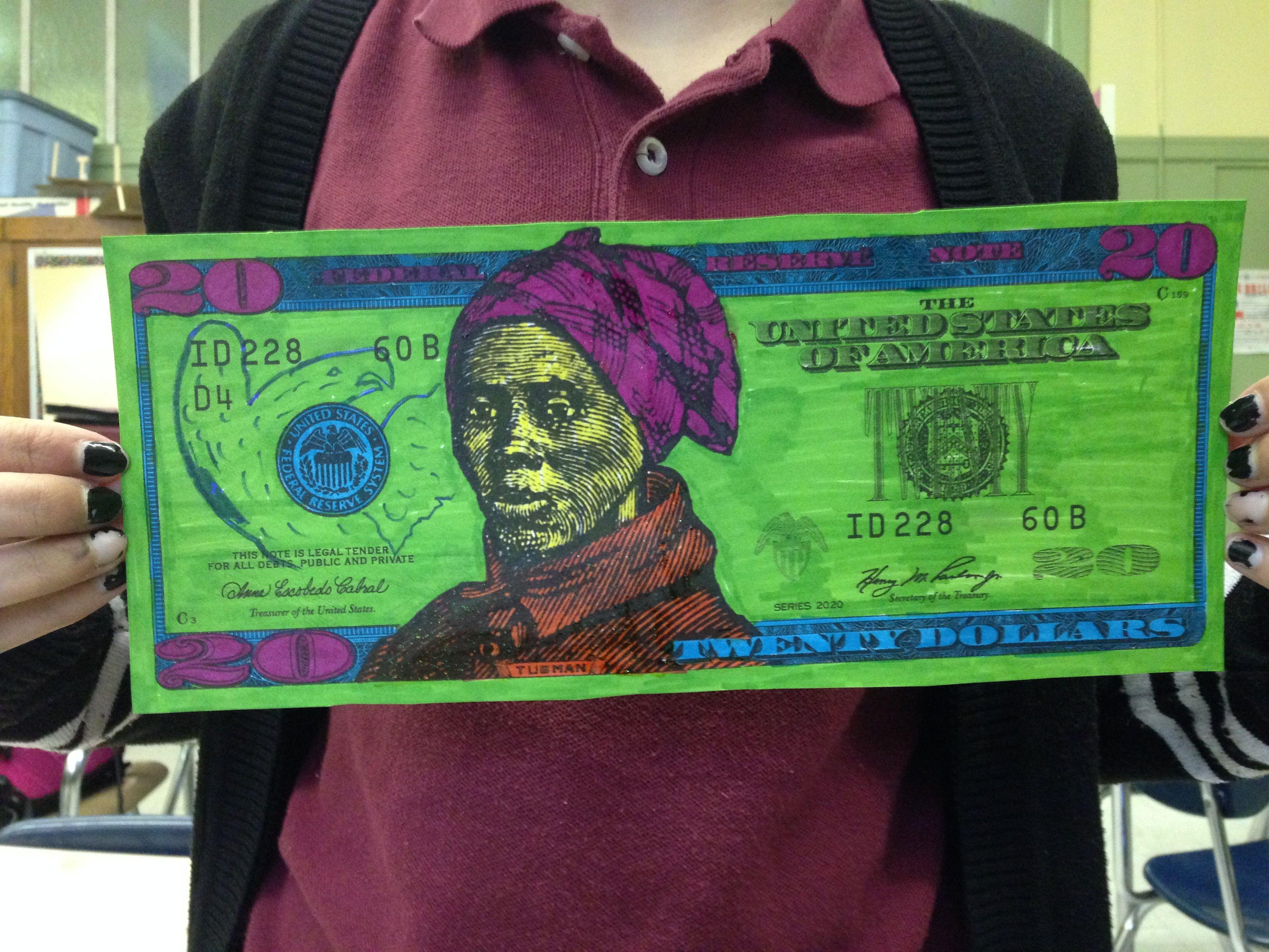 Student Work Womenon20s Tubman20