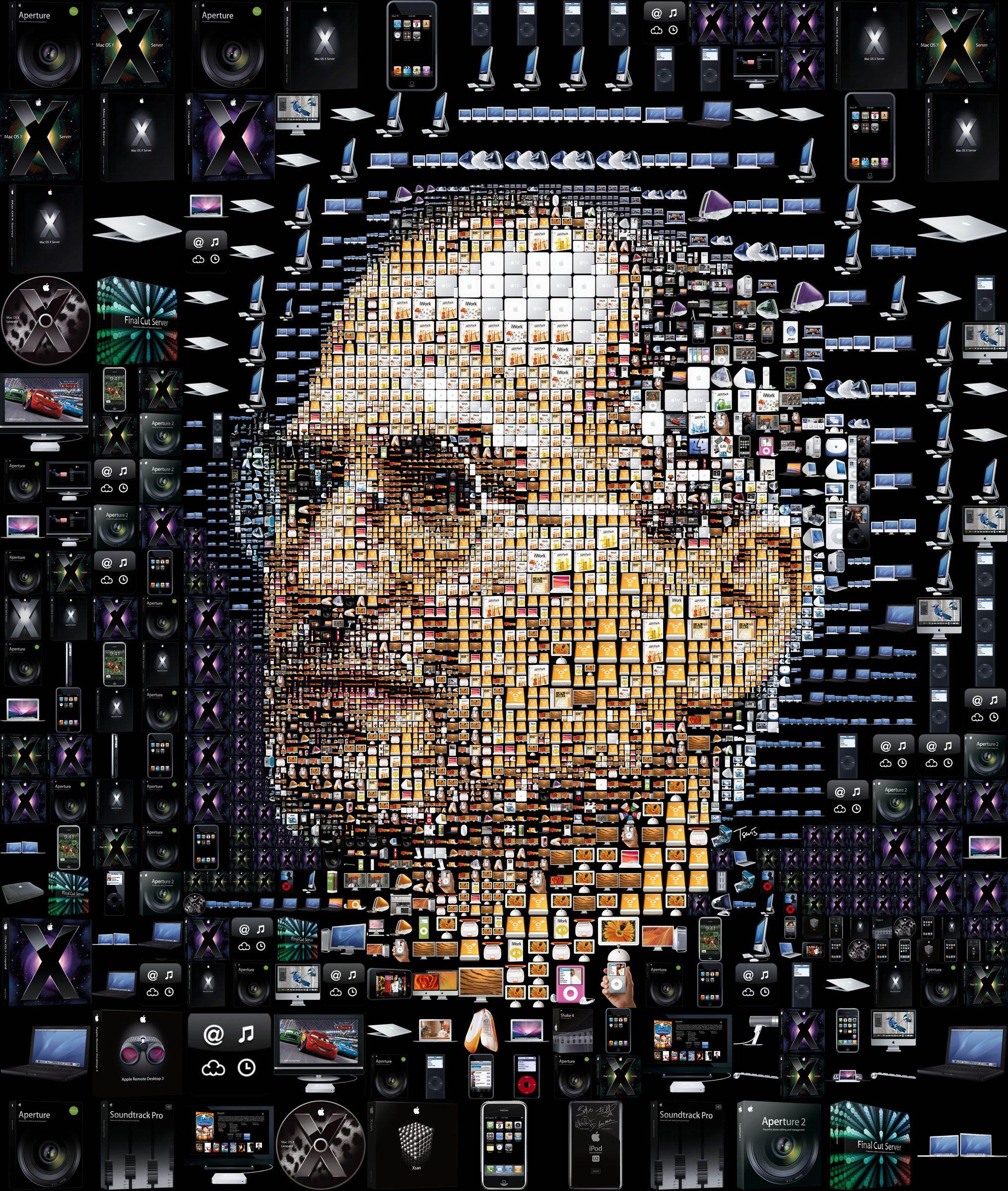 cff7b4aff21 Las creaciones de Steve Jobs #infografia #apple   Design Inspiration ...