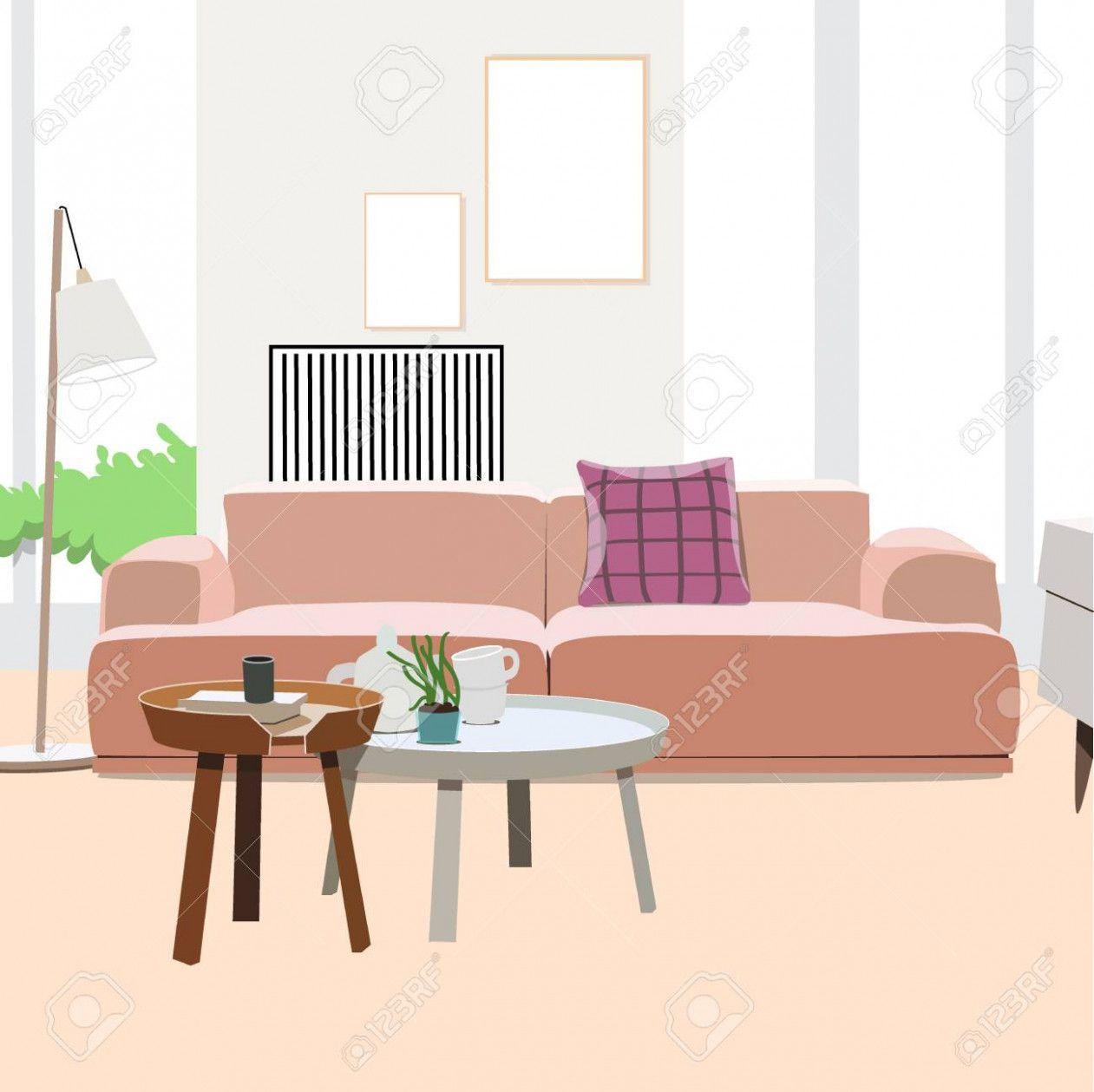 10 Living Room Interior Vector Illustration Living Room Interior Room Interior Living Room Design Modern