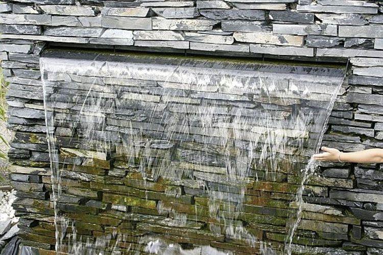 Brunnen \ Wasserfall - die traumgarten ag Garten Pinterest - gartenbrunnen modernes design