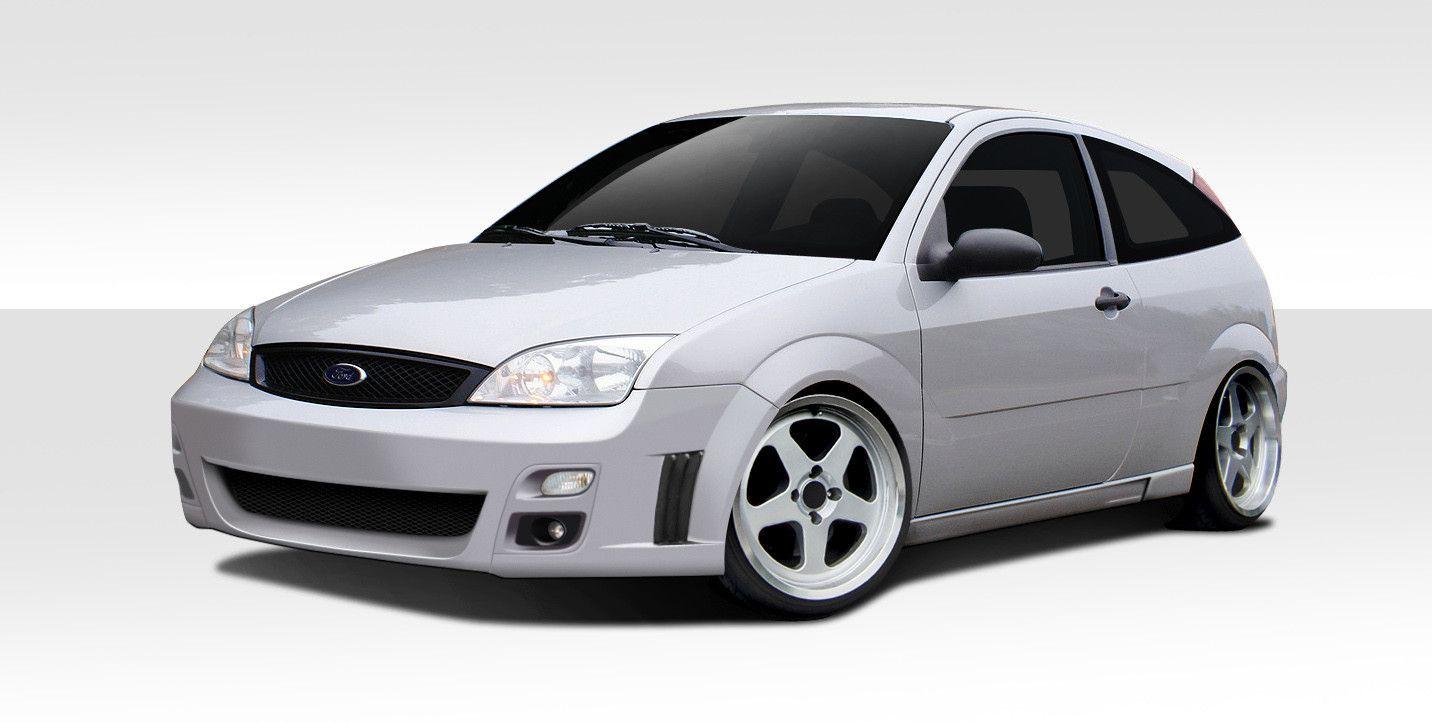 2005-2007 Ford Focus HB Duraflex F-Sport Body Kit - 4 Piece