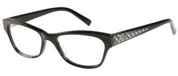 b195508a81 GUESS Eyeglasses GU 2286 Solid Black 50MM GUESS.  103.00