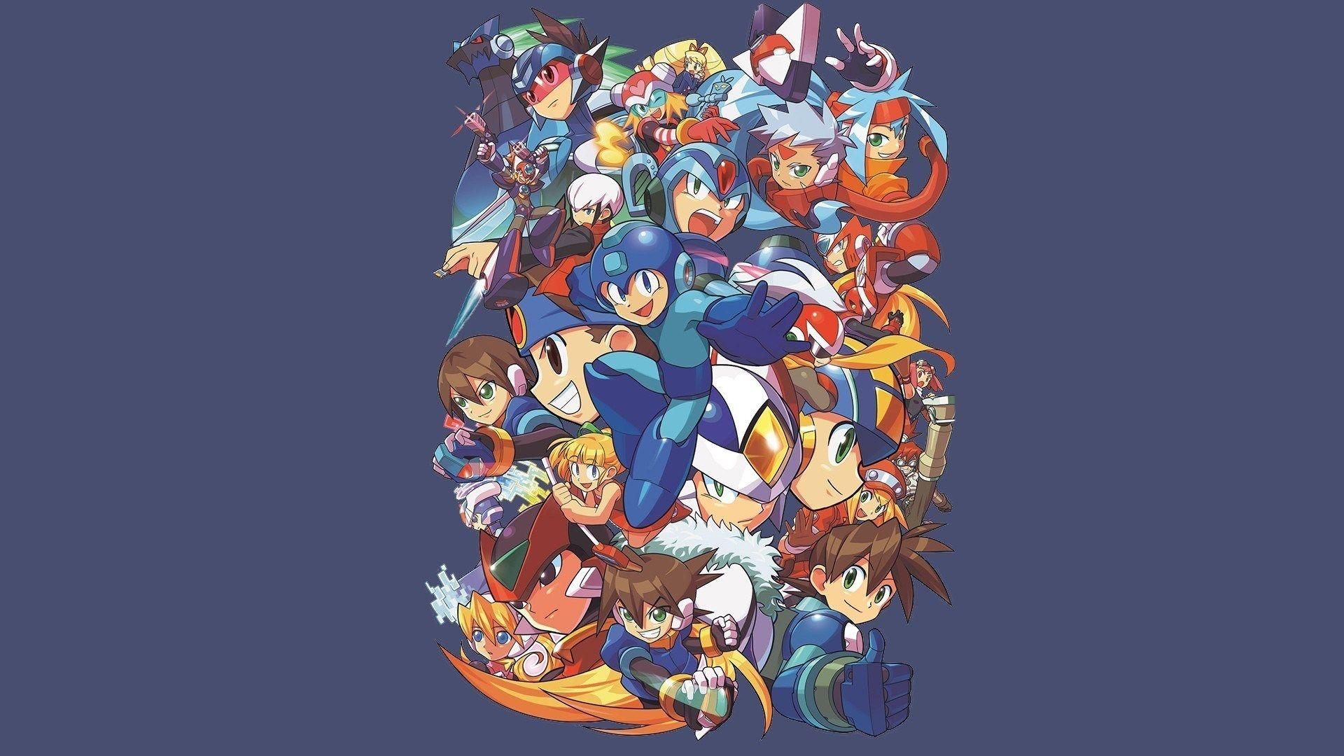 Mega Man 1920x1080 Wallpaper Mega Man Wallpaper Multimedia Artist