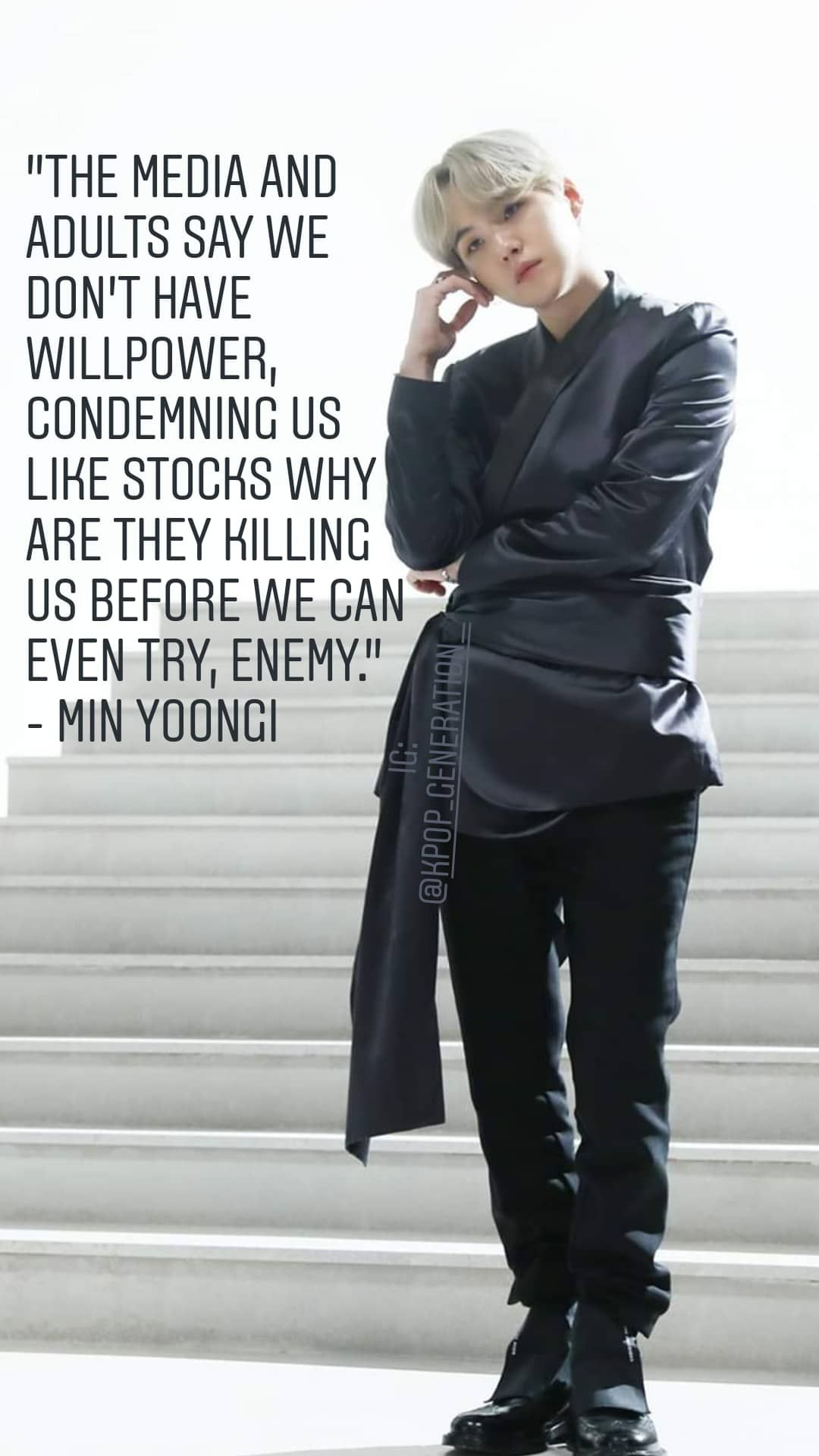 Click on image to get FREE BTS' Top Quotes sent to your