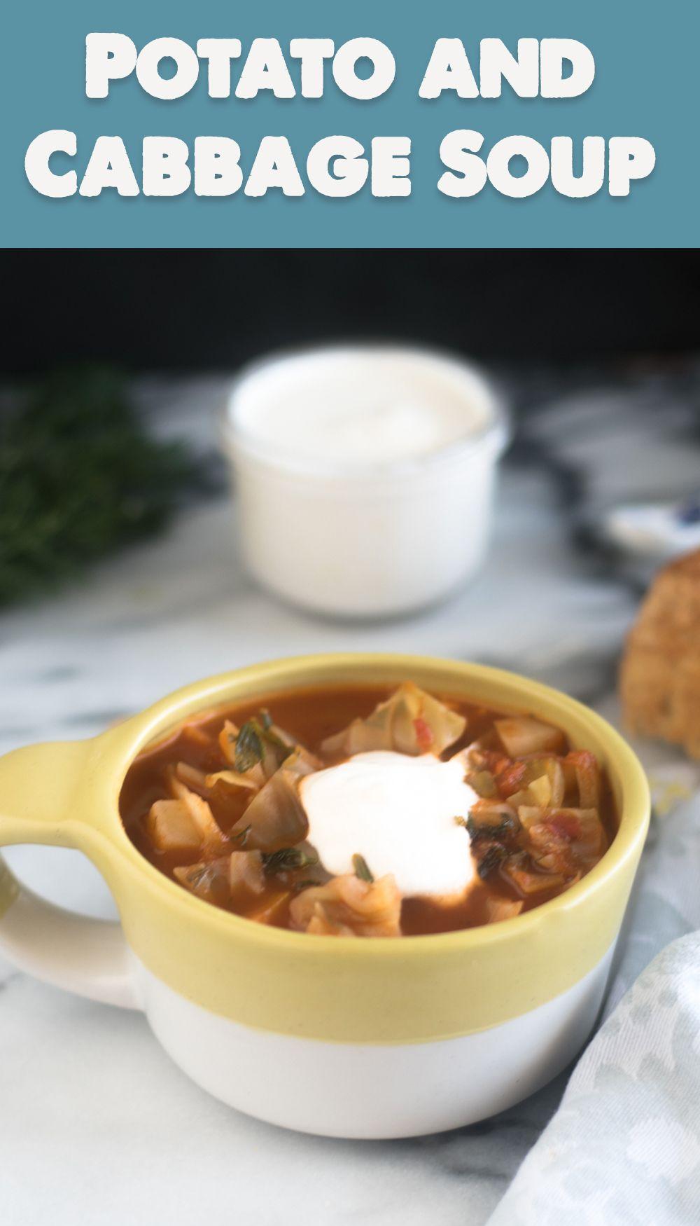 Potato And Cabbage Soup