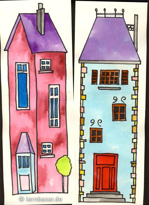 Schöne alte Häuser Haus malen, Altes haus, Häuser zeichnen