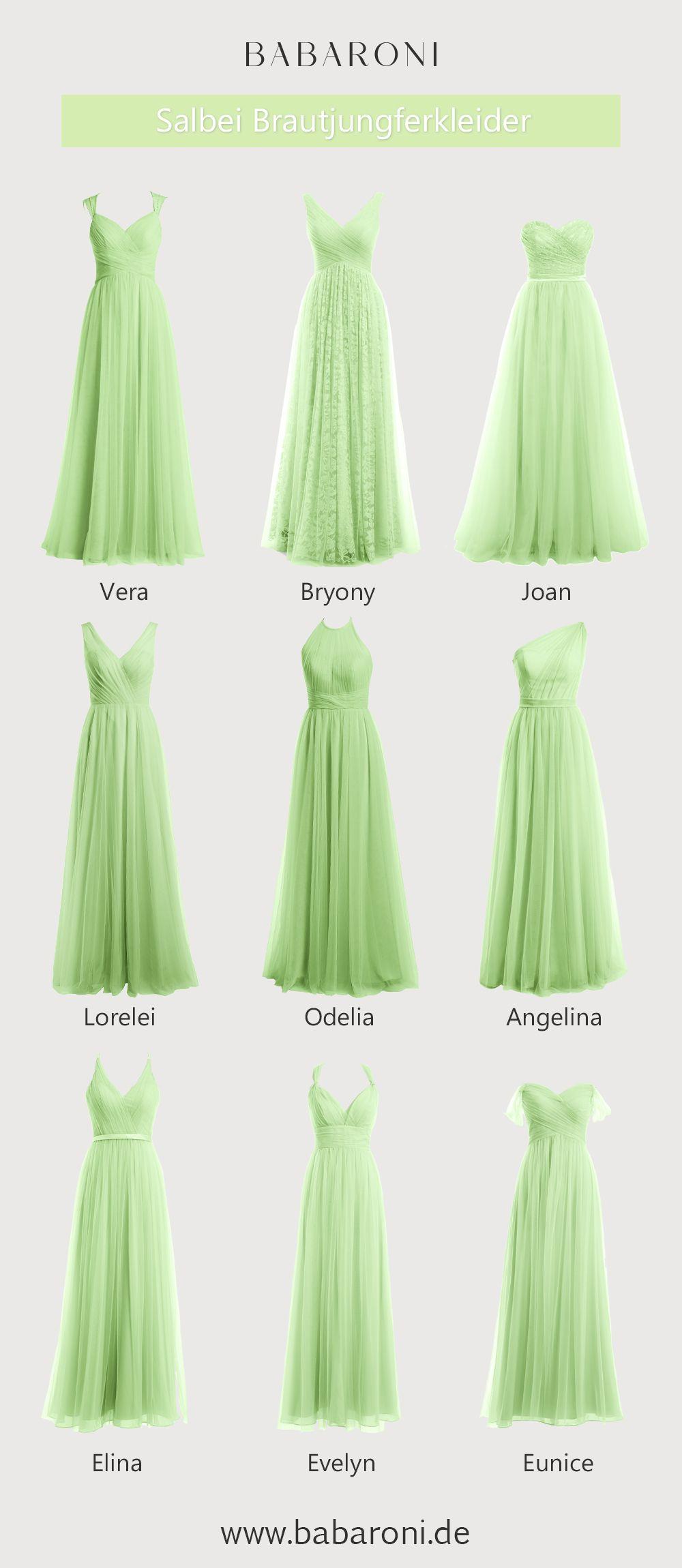 Brautjungfernkleider  Brautjungfernkleider, Kleiderkollektion und