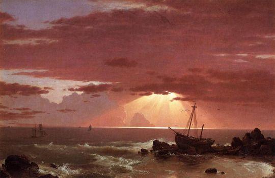 Frederic Edwin Church (1826-1900), The Wreck - 1852