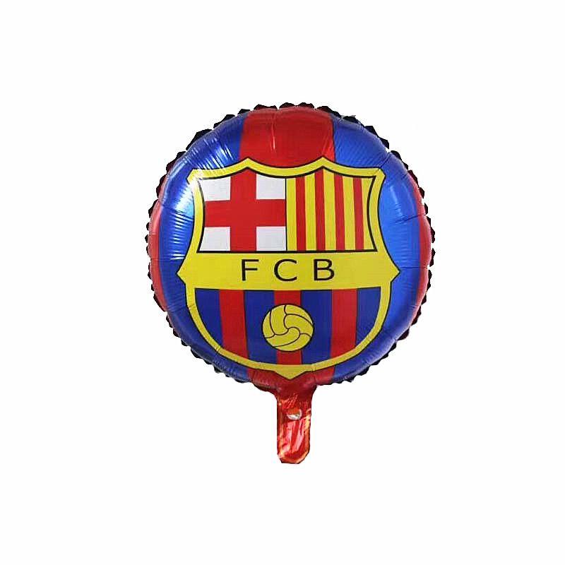 New Champions League Club Barcelona Aluminium Foil Balloon Fcb Team Logo Balloon Barca Soccer Fans Celebration B Celebration Balloons Balloon Logo Soccer Theme