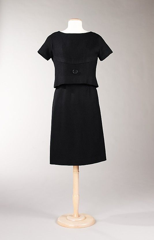 "The Metropolitan Museum of Art - ""Aujourd'hui""; Yves Saint Laurent, 1959, wool"