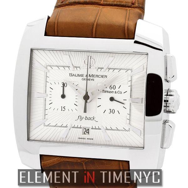 Element In Time | Baume & Mercier Hampton 65475 Spirit Flyback Chronograph Tiffany & Co. Edition