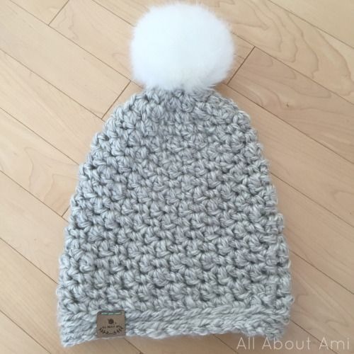 Seed Stitch Beanie - free super chunky crochet pattern from All ...