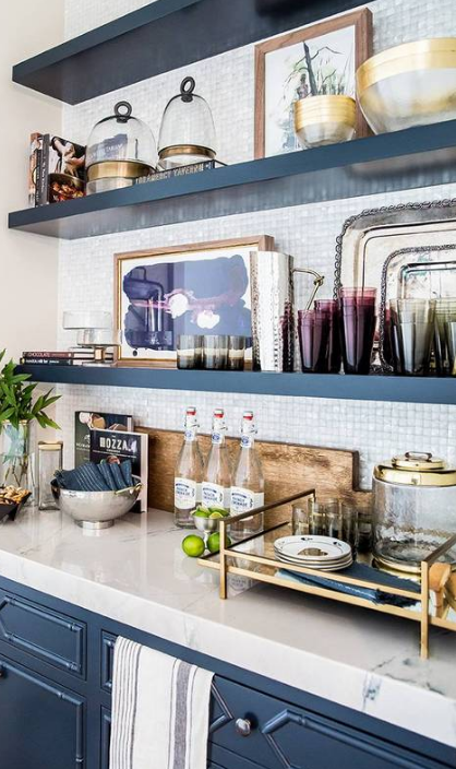 Awesome House Beautiful Is Open Kitchen Shelving A Trend Or Here To Stay? Well, They