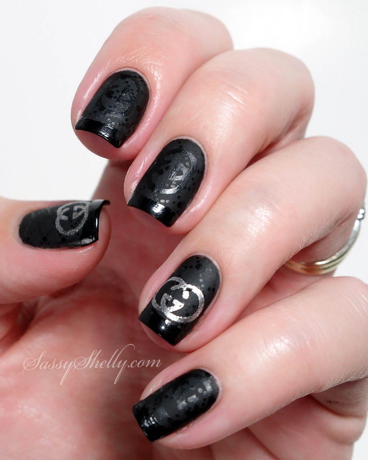 Digit-al Dozen DOES Brands - Gucci Nails | Stamping nail art, Nail ...