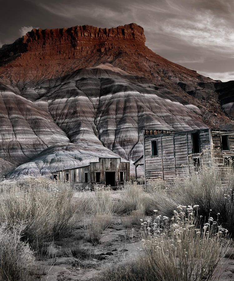 Paria Townsite, Southern Utah. Places, Abandoned places