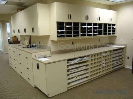 Rolled blueprint storage shelving with cubbyholes and plan drawing rolled blueprint storage shelving with cubbyholes and plan drawing rack store working construction plans along with malvernweather Image collections