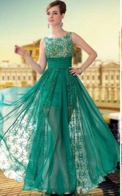 Modas de vestidos para matrimonio de noche