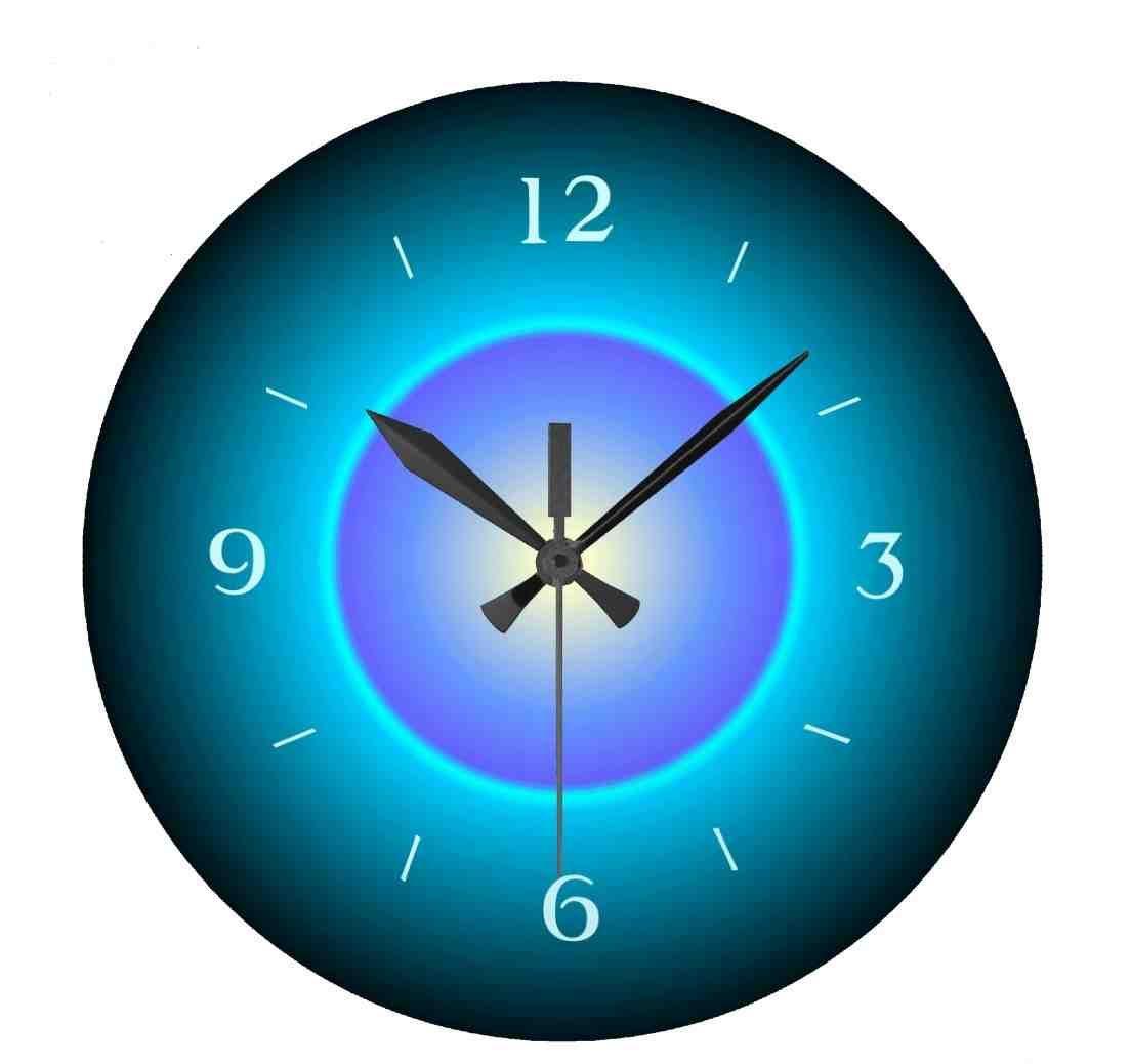 Illuminated Digital Wall Clock Purple Wall Clocks Wall Clock Clock Wall Decor