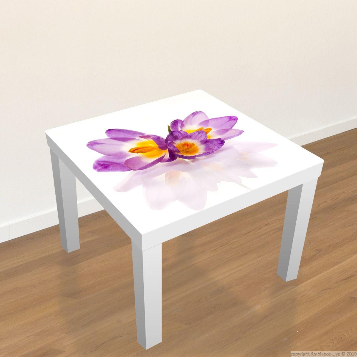 Captivating #Ikea #Table #Decal   Crocuses // #Stickers Table Ikea   Crocus