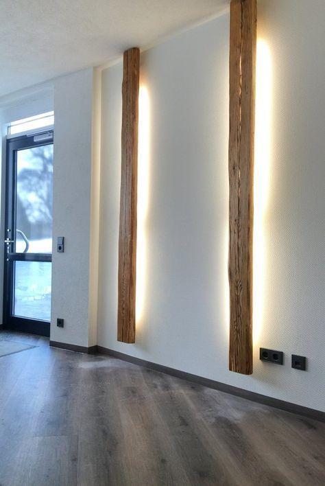 Wandlampe & Wandleuchte aus Holz   woodesign