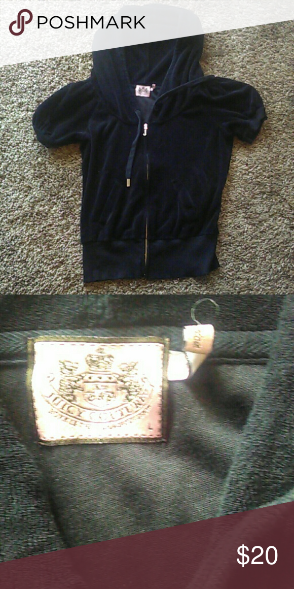 Juicy Couture Jacket Good condition. Size L. Short sleeved. Juicy Couture Jackets & Coats