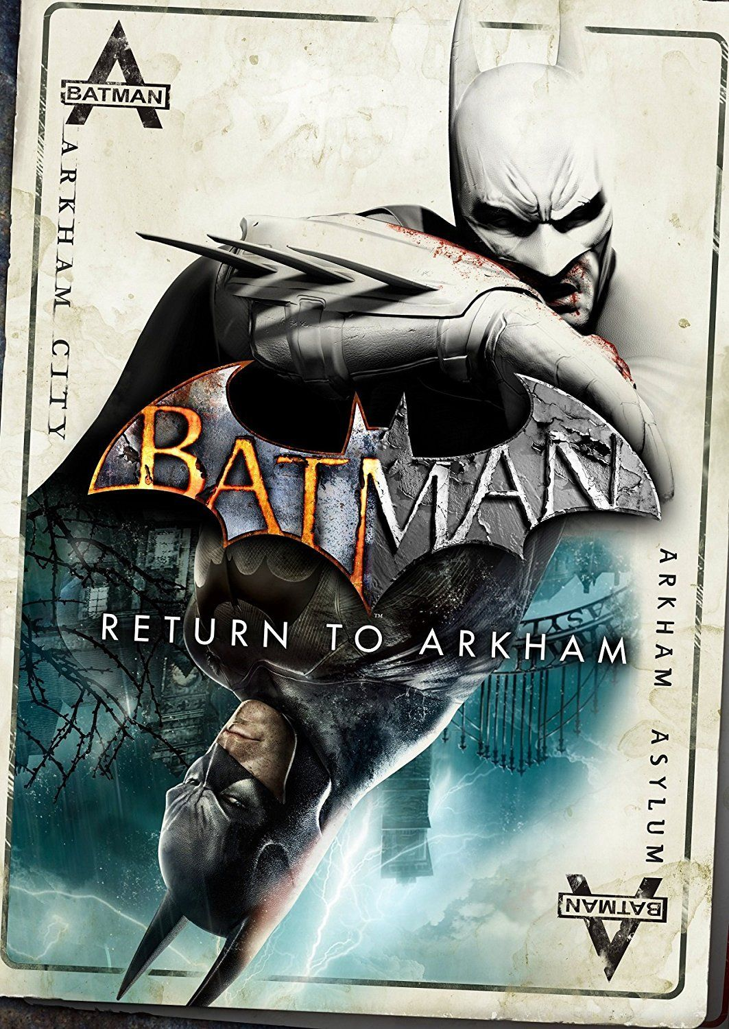 Batman Return To Arkham Poster Batman Arkham City Batman Returns