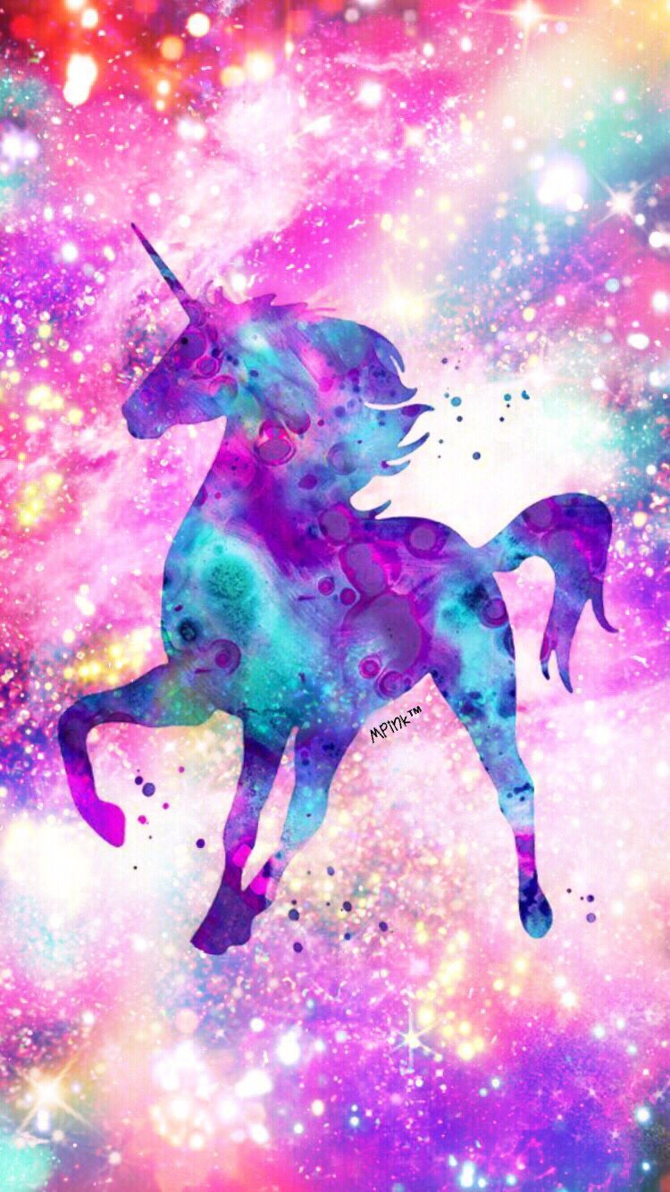 40 Glitter Rainbow Unicorn Wallpapers Download At Wallpaperbro