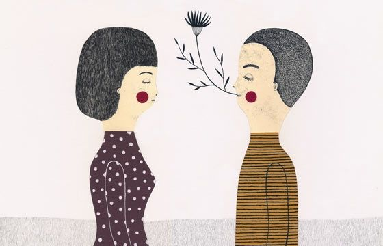 Juxtapoz Magazine - Leire Salaberria's Illustrations are Not Just for Kids