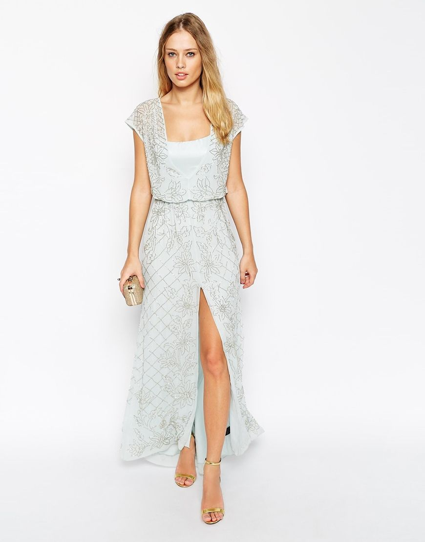 Maxi dresses for wedding guest  Saturday Shopping Edit  Be Our Guest March u  casam  Pinterest