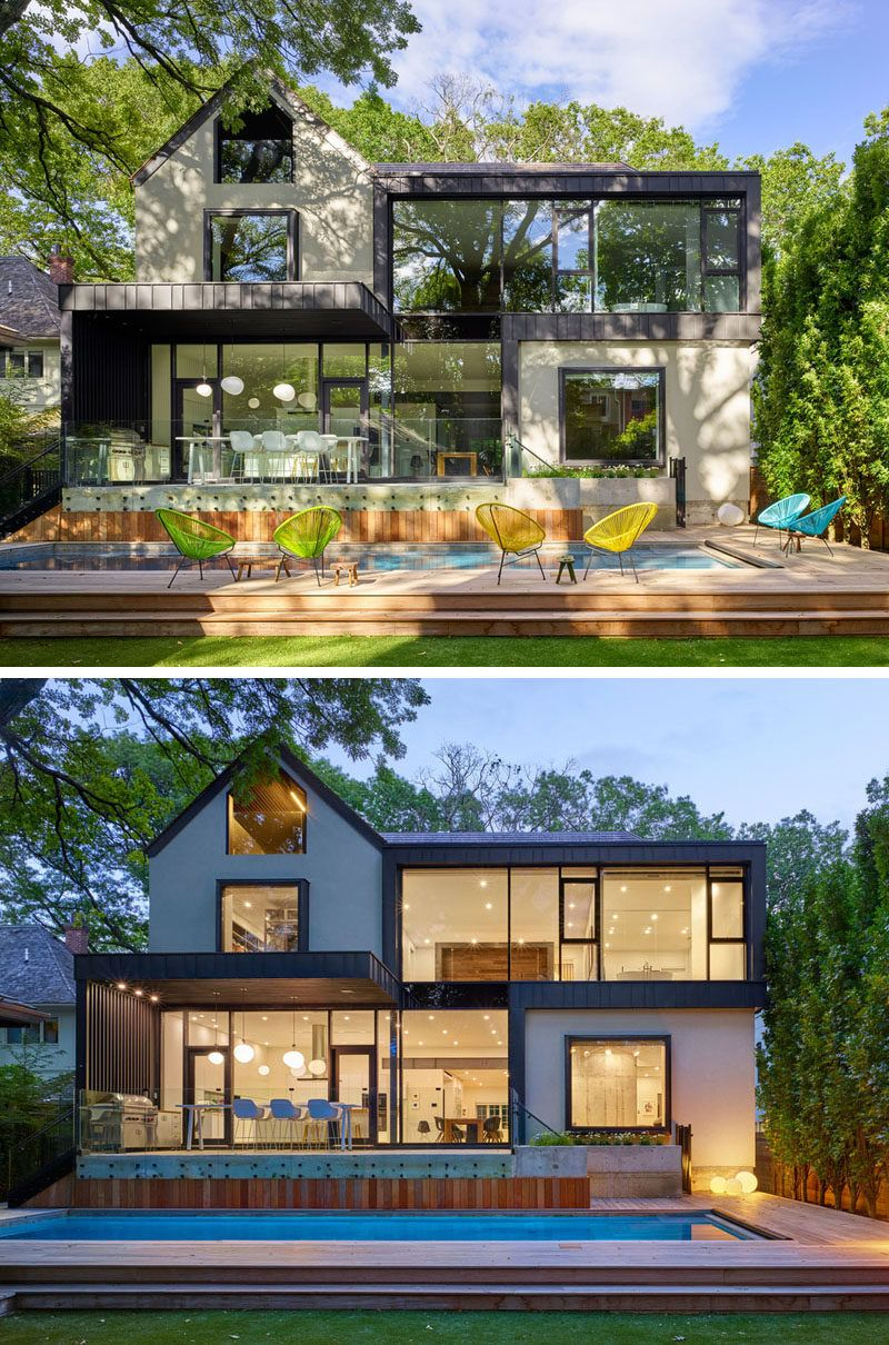 This 116 Year-old House Was Given A Contemporary Update   Anbau ...