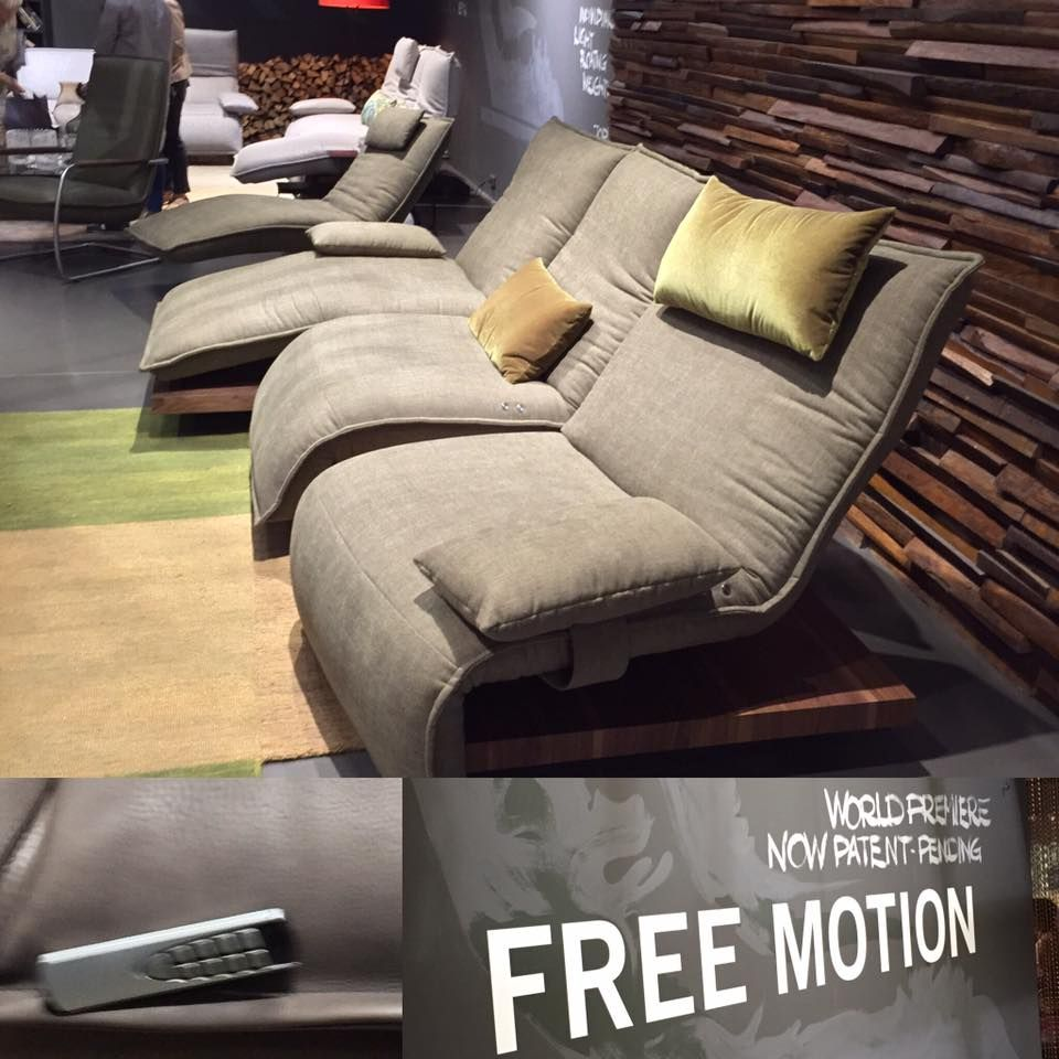 World Premiere Of A Unique Sofa Concept By Koinor. A Family Sofa Thatu0027s For  The Individual. Free Motion Allows You To Not Just Recline At The Touch Of  A ...