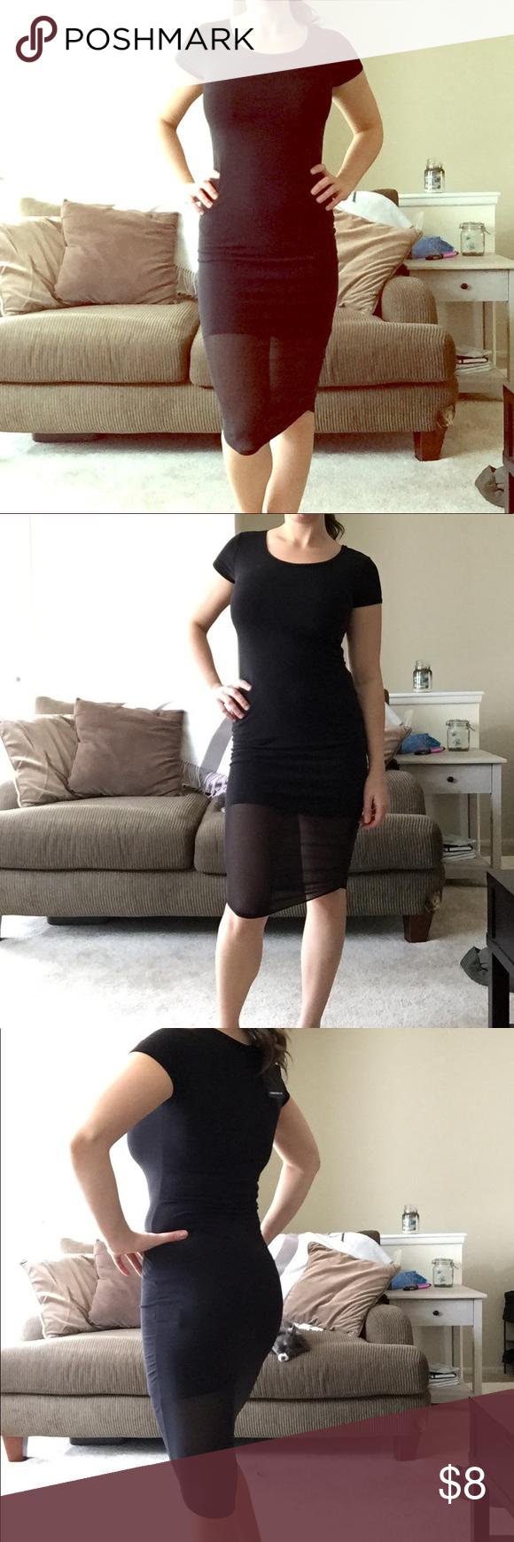 Little black dress nwt sheer dress long black and black dress shorts