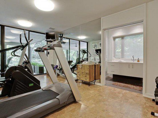 58 awesome ideas for your home gym. it's time for workout | home
