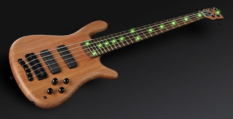Warwick Streamer Stage II Bass - with ying-yang LED inlays!
