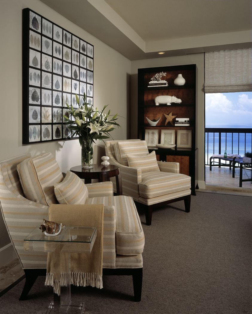 Robin Rains Interior Design Ocean View Seating