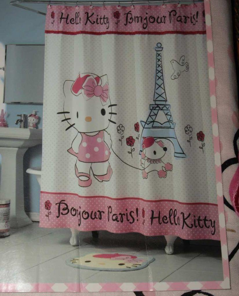 Pink poodle paris shower curtain shower curtain pinterest