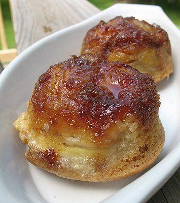 Banana Upside Down Muffins